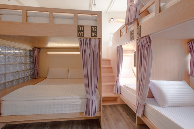 Superior Double Bed Female Dorm 3