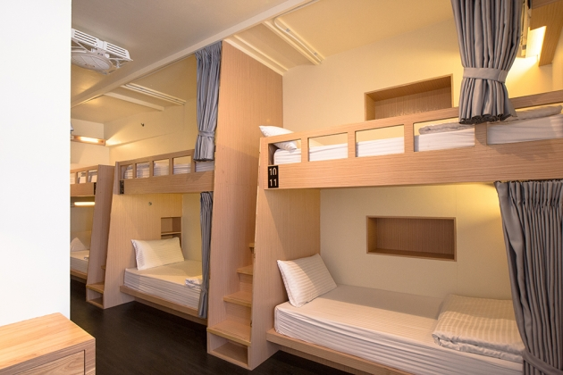 Deluxe Single Bed Mixed Dorm (with a balcony) 1