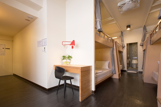 Deluxe Single Bed Mixed Dorm (with a balcony) 2